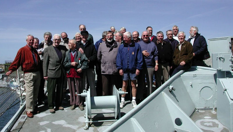 Focsle Party 2002 - HMS Plymouth
