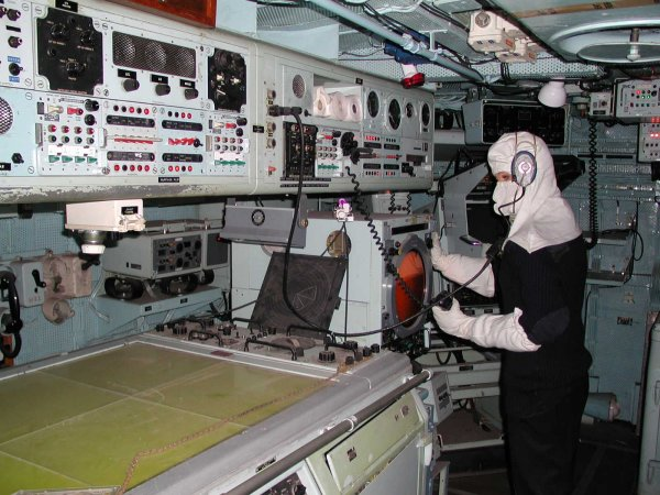 HMS Plymouth Ops Room