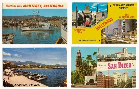 Postcards from the West Coast