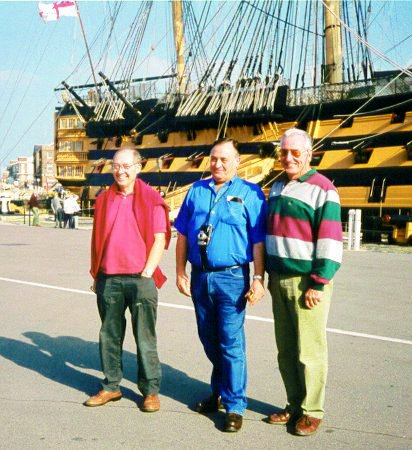 3 Jolly Tars Revisit The Dockyard