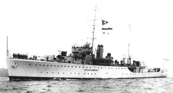 HMS Londonderry U76