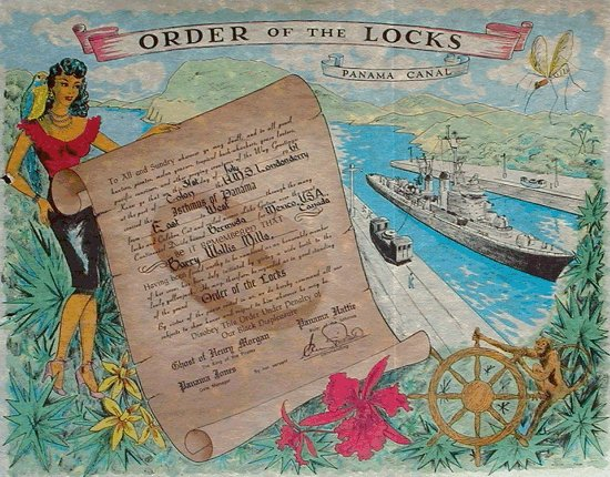 Order of the Locks Certificate