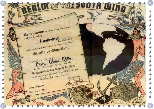 South Winds Certificate